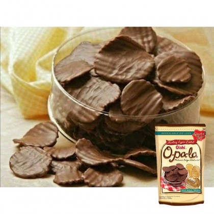(Halal) Oishi Opala Chocolate Potato Chips 100g 欧趴拉巧克力薯片