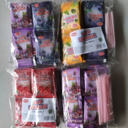 Pop Dringk Powder/Serbuk Pop Drink 40pcs (random flavour)