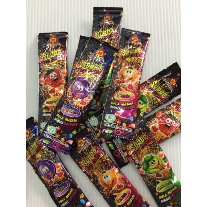 Super Pop Candy/Gula Meletup Mulut 15pcs