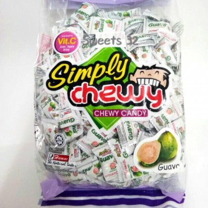 1kg Hamac Simply Guava Chewy Candy 380pcs+-