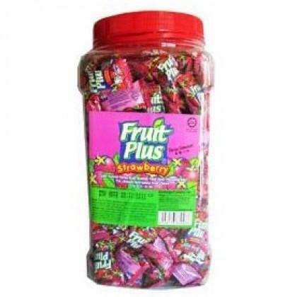 1kg (350pcs +-) Fruit Plus-Strawberry (Whole Sale in Selangor)