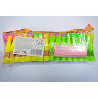 Sour Powder Candy Fruity Flavoured 30+3pcs suitable for birthday party goodies bag
